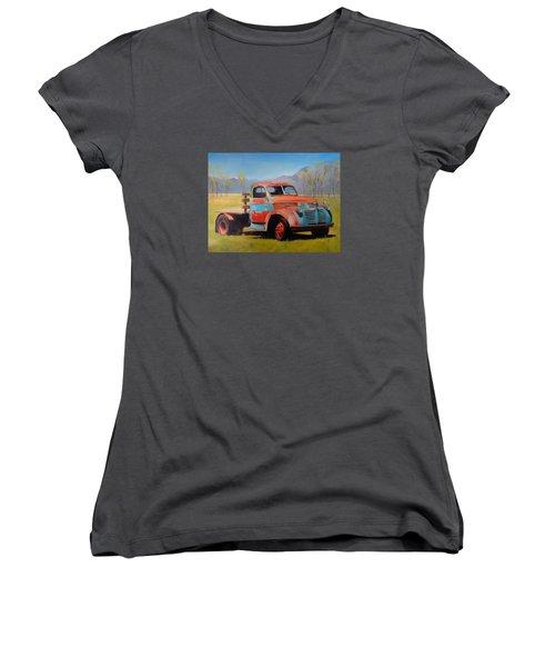 Taos Truck Women's V-Neck