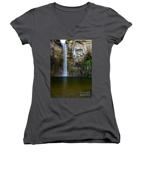 Taughannock Falls Women's V-Neck (Athletic Fit)