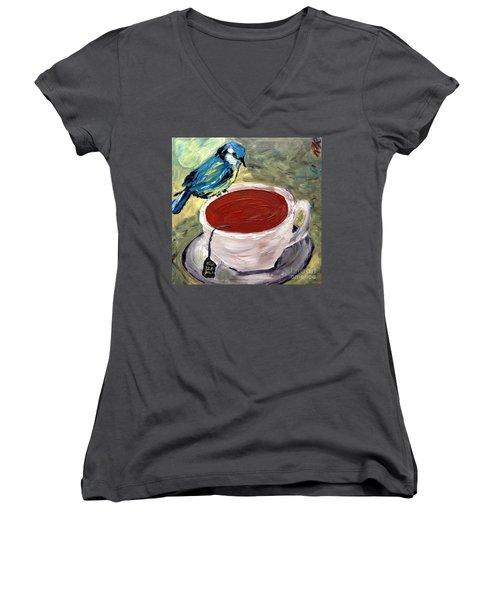 Tea Time  Women's V-Neck