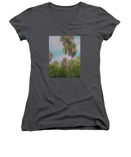 This Is Florida Women's V-Neck (Athletic Fit)