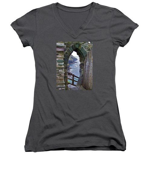 Tintagel Portal Women's V-Neck T-Shirt