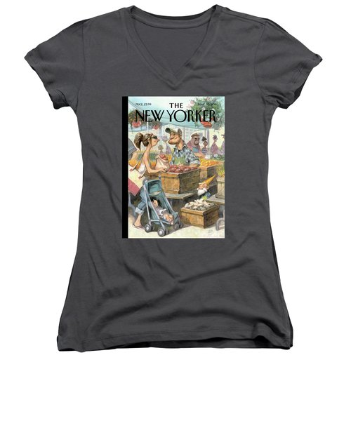 New Yorker May 30th, 2011 Women's V-Neck