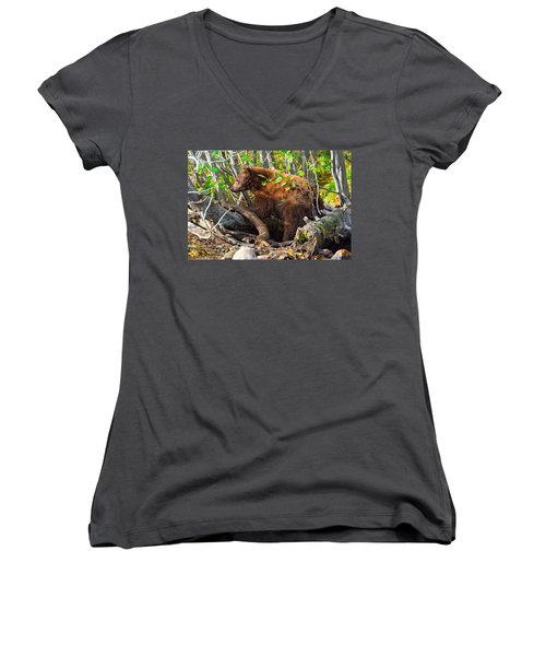 Where The Wild Things Are Women's V-Neck T-Shirt