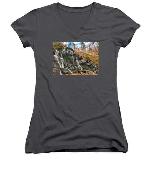 Yellow Branch Falls Women's V-Neck