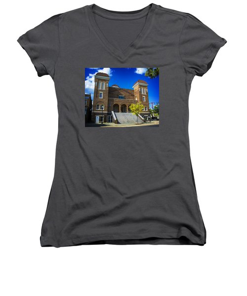 16th Street Baptist Church Women's V-Neck
