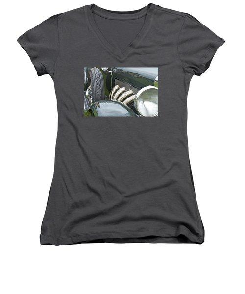 1932 Duesenburg Women's V-Neck T-Shirt