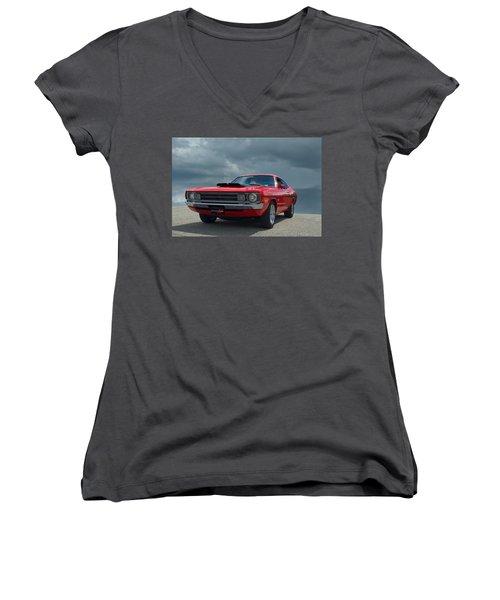 1972 Dodge Demon Women's V-Neck