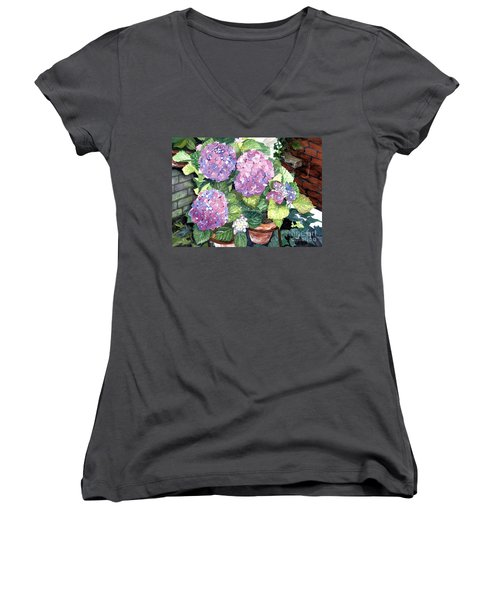 Corner Garden Women's V-Neck T-Shirt