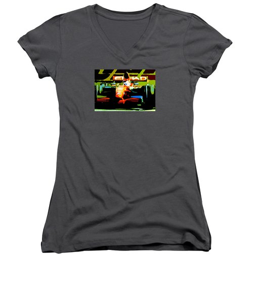 Formula One Women's V-Neck T-Shirt