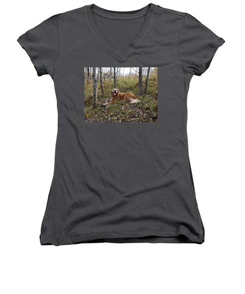 Happiness Is Women's V-Neck T-Shirt