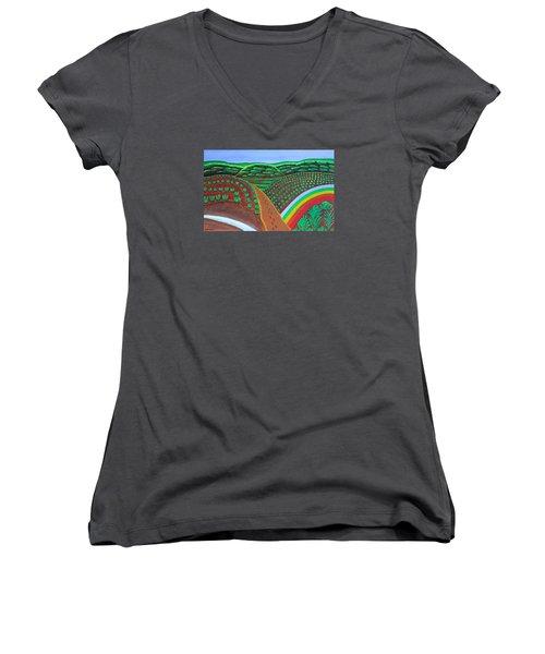 Hidden Forest Women's V-Neck T-Shirt