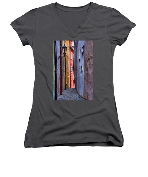 Medieval Alley Women's V-Neck T-Shirt