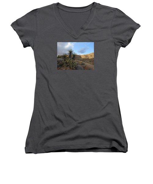 The Living Desert Women's V-Neck T-Shirt