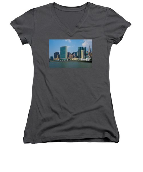 United Nations Women's V-Neck