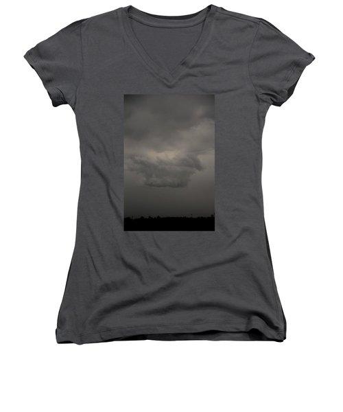 Let The Storm Season Begin Women's V-Neck T-Shirt