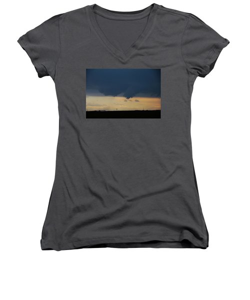 Let The Storm Season Begin Women's V-Neck T-Shirt