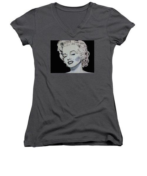 Marilyn Monroe Women's V-Neck T-Shirt