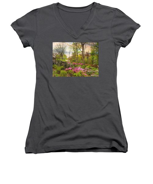 The Azalea Garden Women's V-Neck