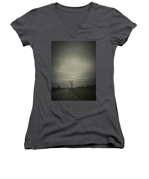 The Journey Women's V-Neck (Athletic Fit)