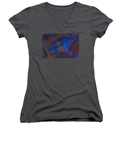 Blue Rock Design Women's V-Neck