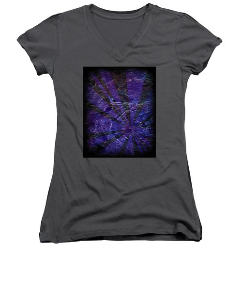 Abstract 95 Women's V-Neck (Athletic Fit)