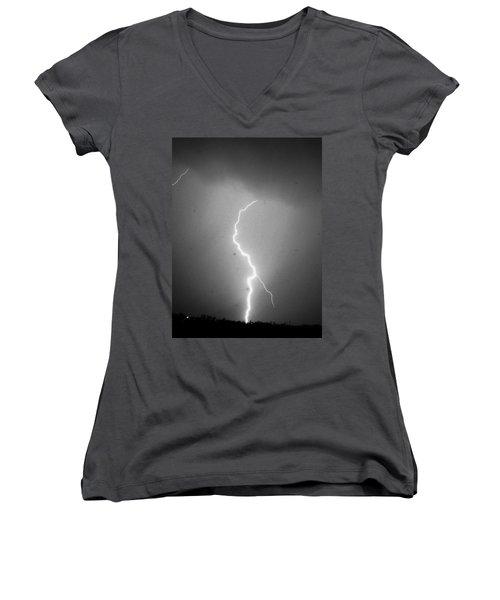 Our 1st Severe Thunderstorms In South Central Nebraska Women's V-Neck