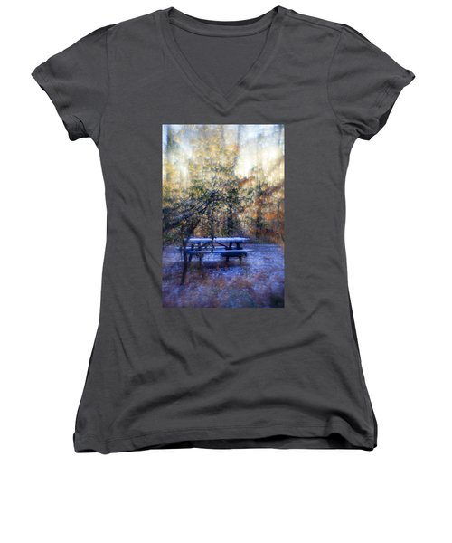 The Magic Forest Women's V-Neck (Athletic Fit)