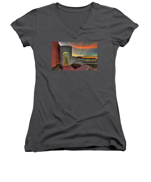 Ferguson Center For The Arts Women's V-Neck T-Shirt