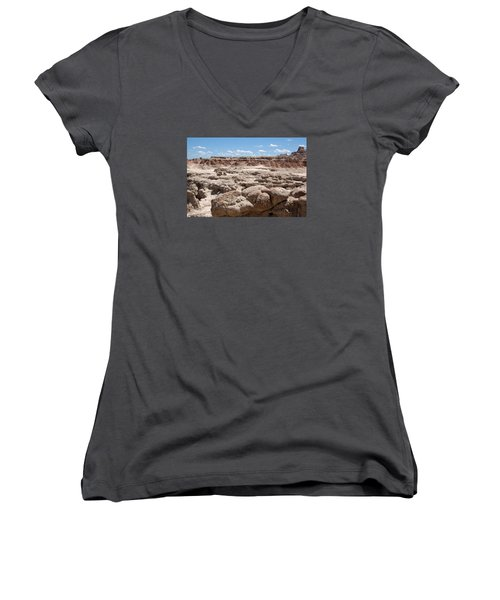 The Badlands Women's V-Neck (Athletic Fit)