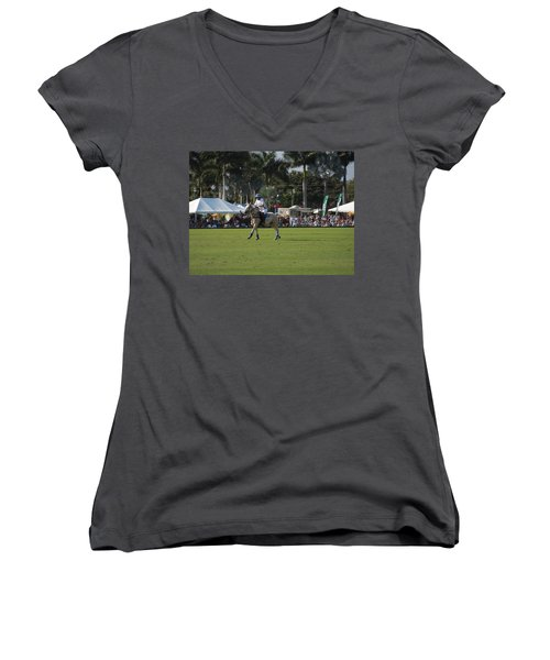 International Polo Club Women's V-Neck T-Shirt