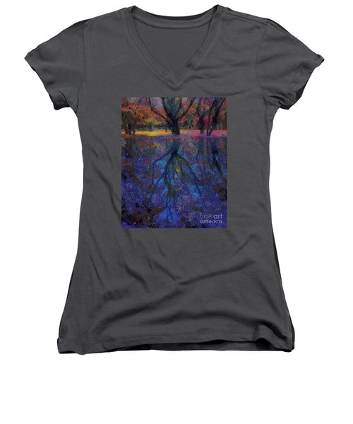 A Beautiful Reflection  Women's V-Neck