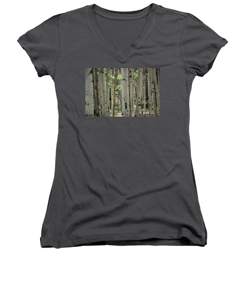 A Change Of Weather  Women's V-Neck T-Shirt