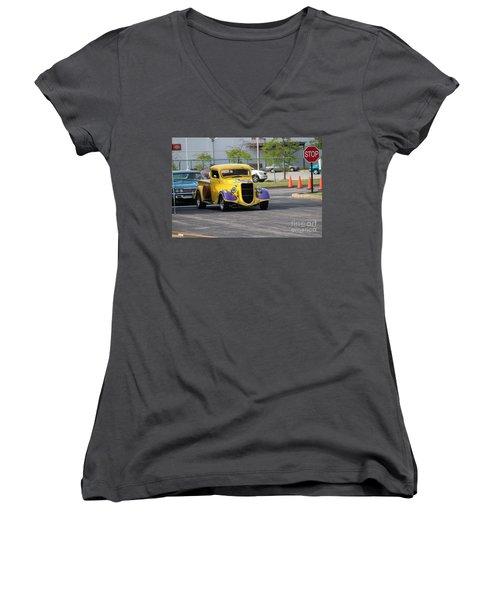 A Classic Truck Women's V-Neck T-Shirt
