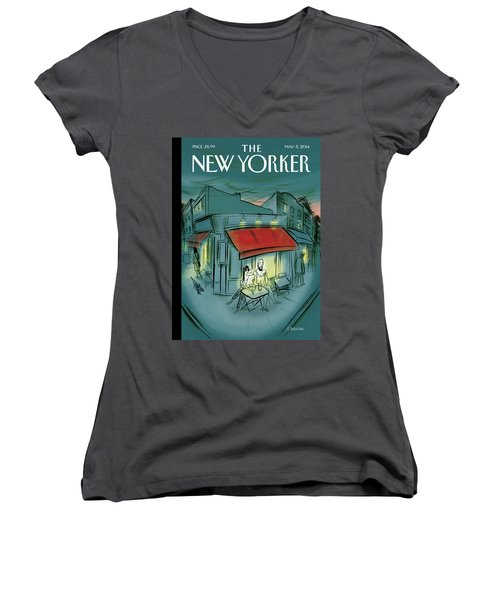 Out And About Women's V-Neck