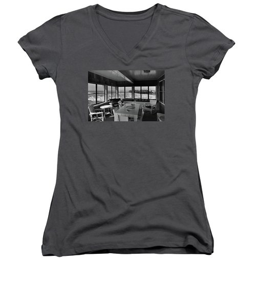 A Covered Porch With A View Women's V-Neck