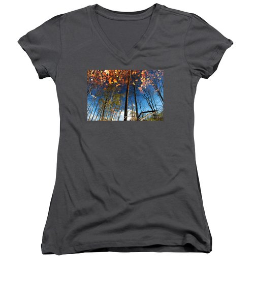 A Different Side Of Autumn Women's V-Neck T-Shirt