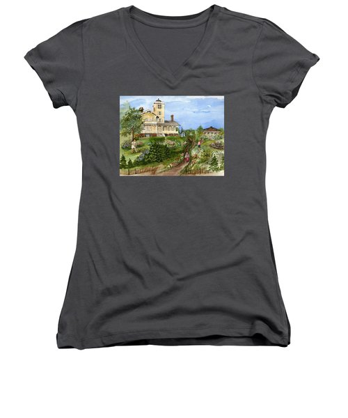 A Garden For All Ages Women's V-Neck (Athletic Fit)