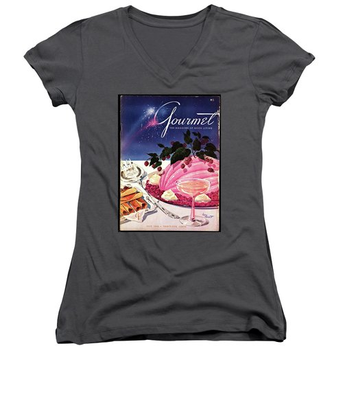 A Gourmet Cover Of Mousse Women's V-Neck