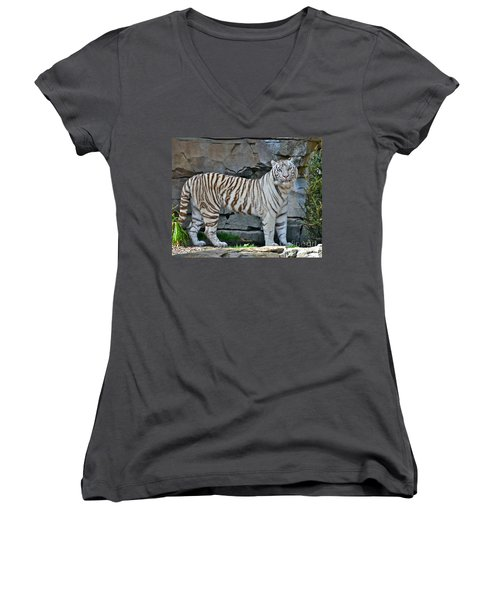 A Magnificent Creature Women's V-Neck T-Shirt