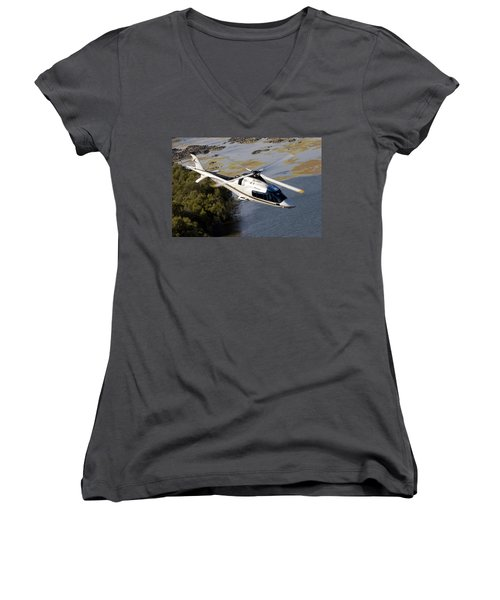 A Paining Women's V-Neck (Athletic Fit)