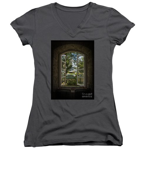 A Paradise Awaits Women's V-Neck