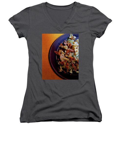 A Plate Of Pasta Women's V-Neck