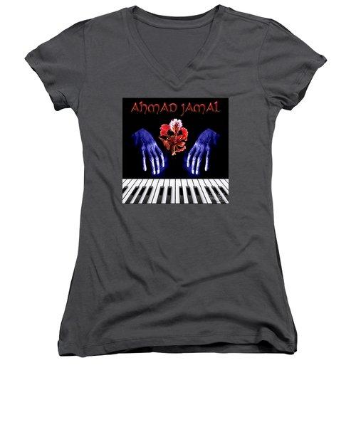 Ahmad Jamal Women's V-Neck