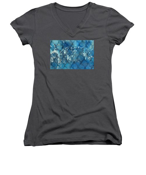 A Sea Of Patterns Women's V-Neck T-Shirt