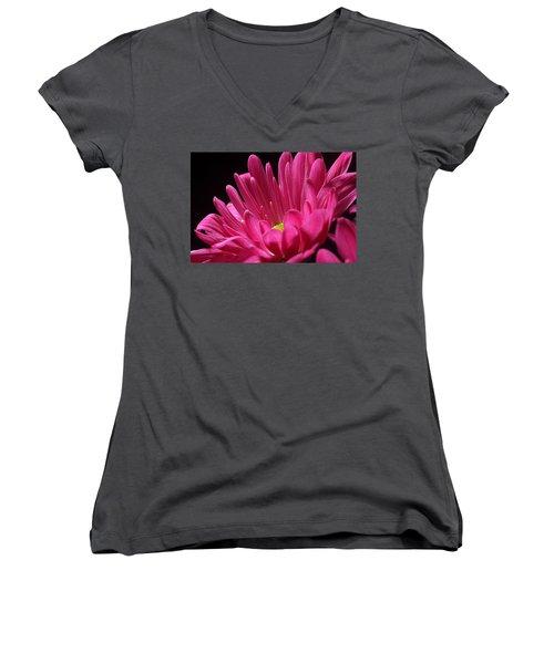 A Singularity Women's V-Neck T-Shirt (Junior Cut) by Joe Kozlowski