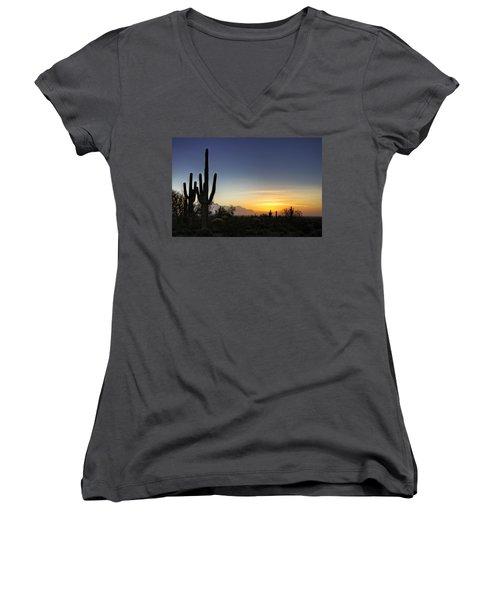 A Sonoran Sunrise  Women's V-Neck