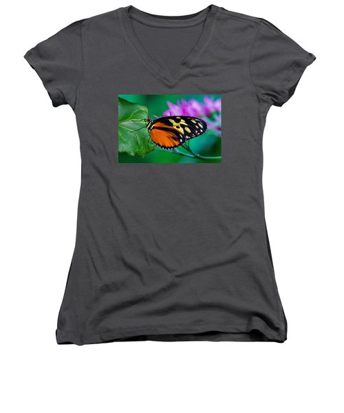 A Splash Of Colour Women's V-Neck