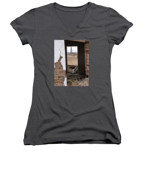 Abandoned In Texas Women's V-Neck T-Shirt