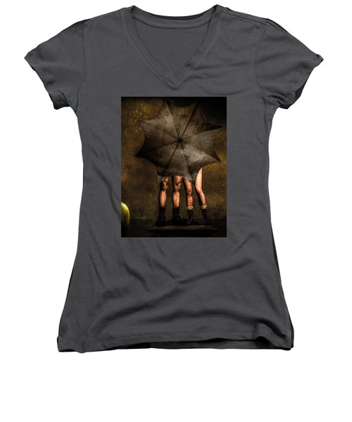 Adam And Eve Women's V-Neck (Athletic Fit)