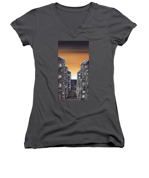 Alley Cat Women's V-Neck (Athletic Fit)